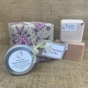 Rose Garden Gift Set from The Maldon Soap Company