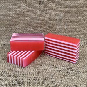 Candy Cane Soap from The Maldon Soap Company
