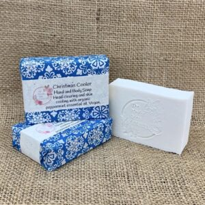 Christmas Cooler Soap from The Maldon Soap Company