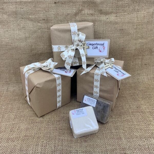 Gingerbread gift from The Maldon Soap Company