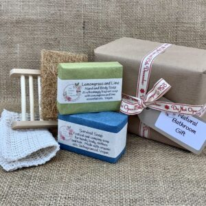 Natural Bathroom Gift from The Maldon Soap Company