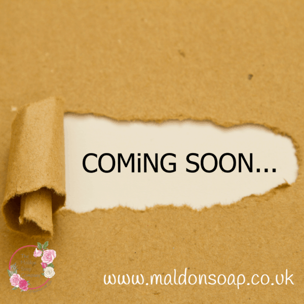 Coming soon pic from Maldon Soap