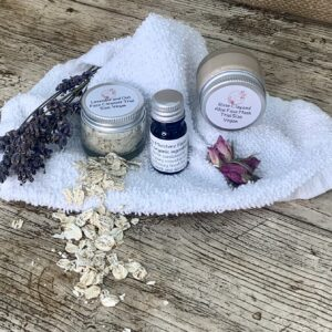 skin pampering kit from The Maldon Soap Company