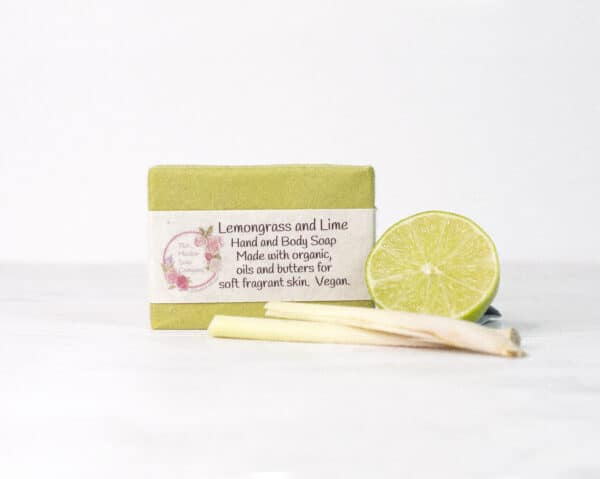 Lemongrass and Lime Soap from The Maldon Soap Company