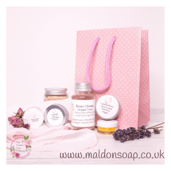 7 day skincare kit for dry skin from The Maldon Soap Company