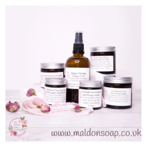 full size 7 day kit for dry skin from The Maldon Soap Company