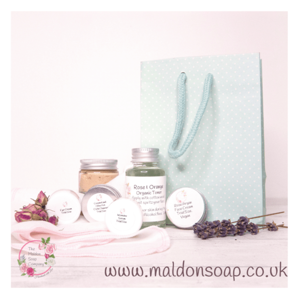 7 day skincare kit for normal skin from The Maldon Soap Company