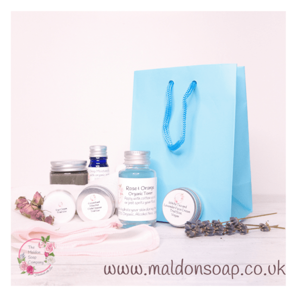 7 day skincare kit for oily skin from The Maldon Soap Company